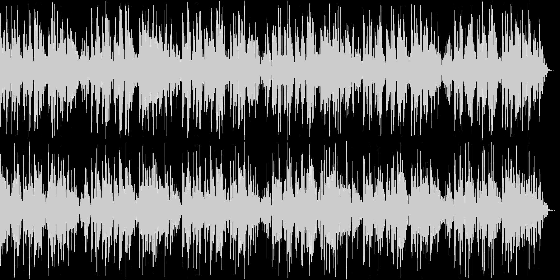 のんびりとしたリラクゼーションBGMの未再生の波形