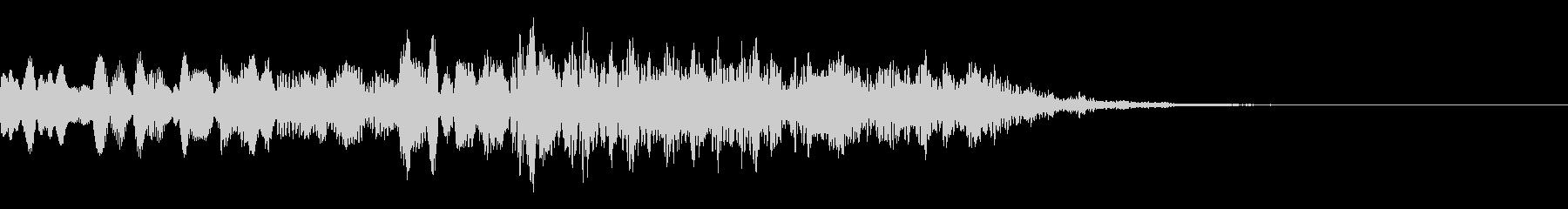 不思議な音03の未再生の波形