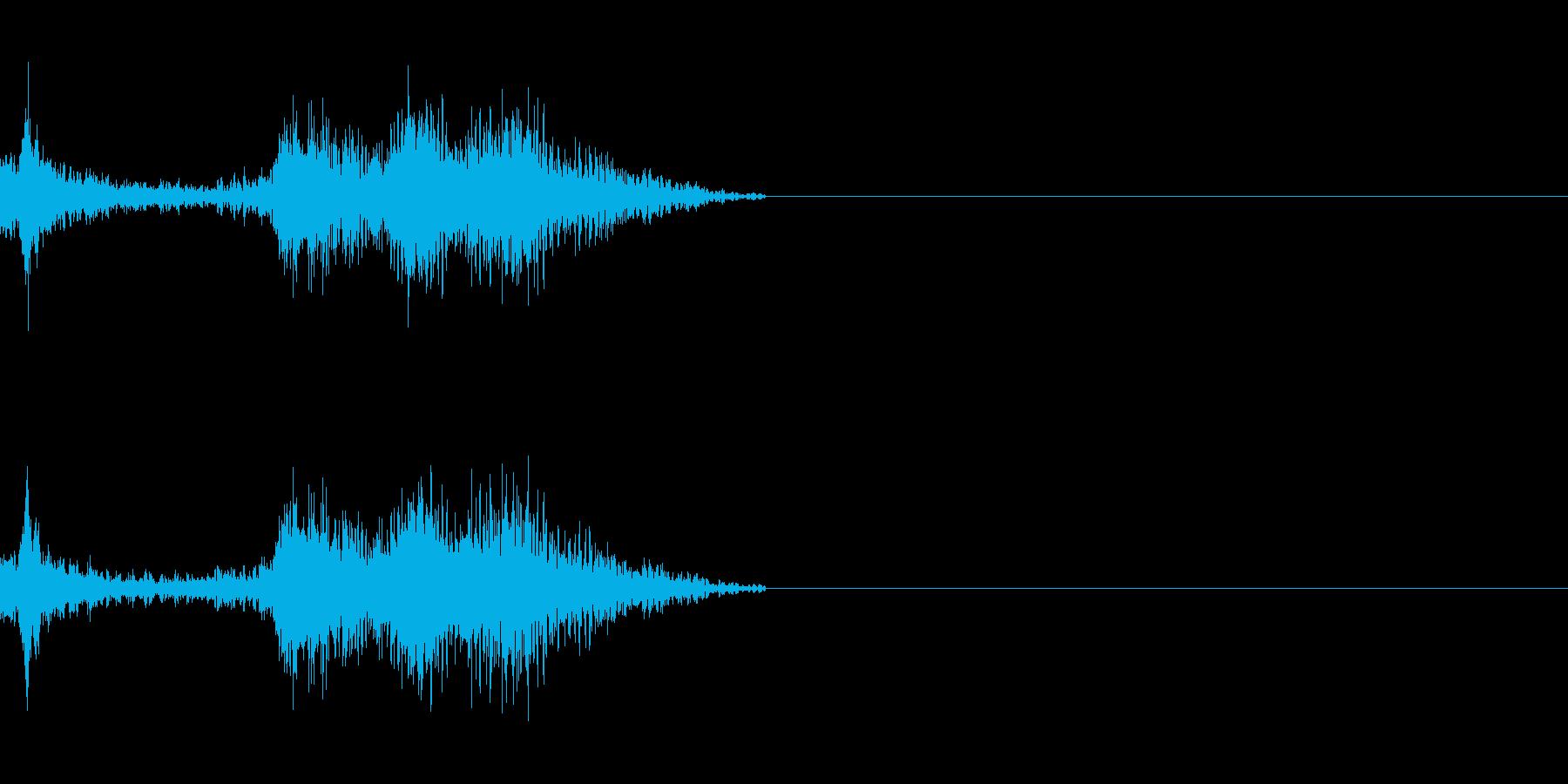 SF兵器 ボムの再生済みの波形