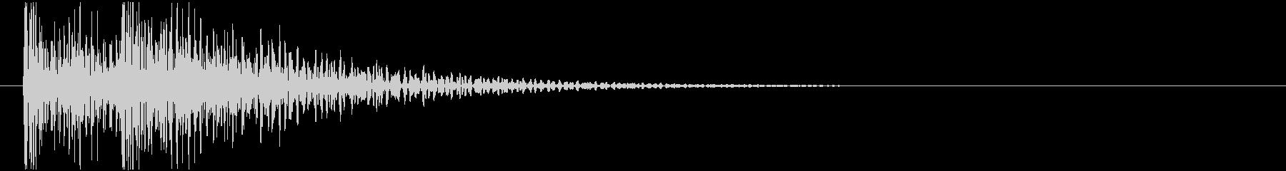ドンドン! (扉をノック・2回)-Aの未再生の波形