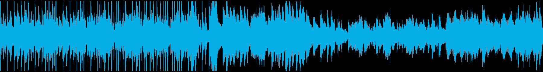 回想BGM02(ループ仕様)の再生済みの波形