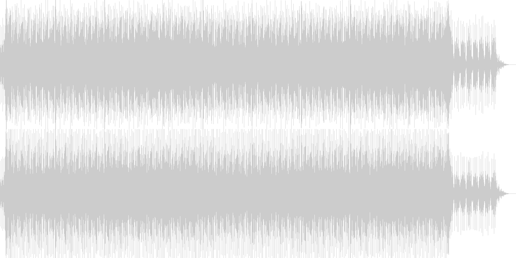 シンプル・ナレーションバック-03の未再生の波形