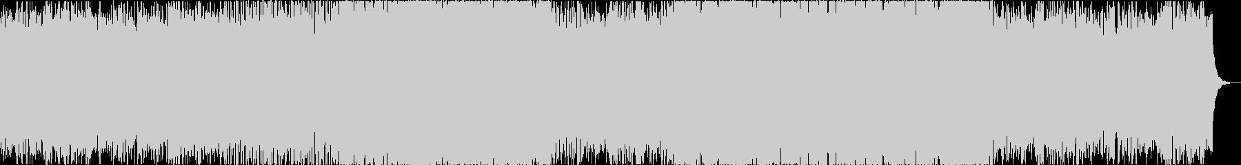 ピアノの旋律が印象的なチルアウトトラックの未再生の波形