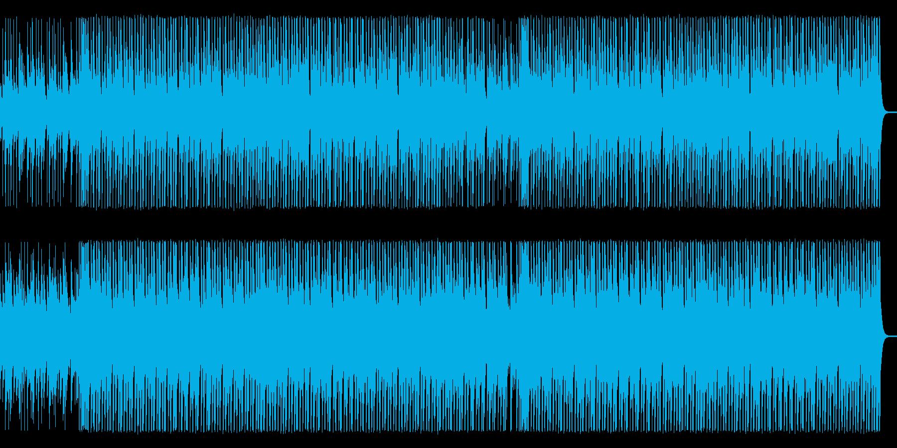 【ベース抜き】軽快な木琴とウクレレの再生済みの波形