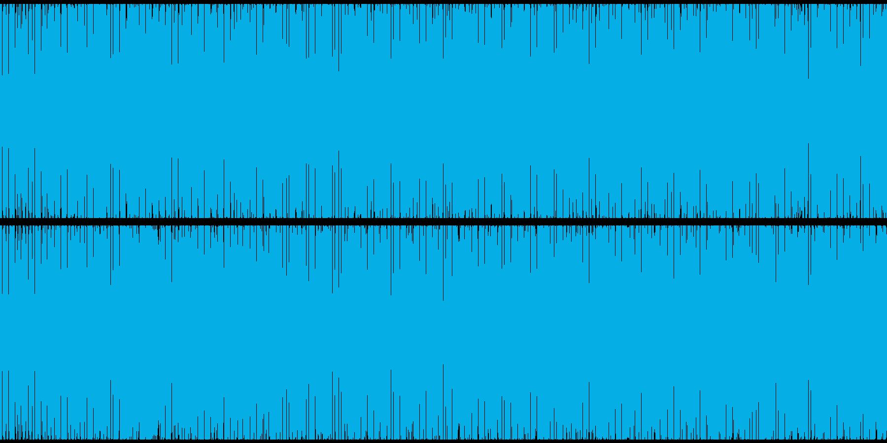 緊張感や幻想的な雰囲気を演出するBGMの再生済みの波形