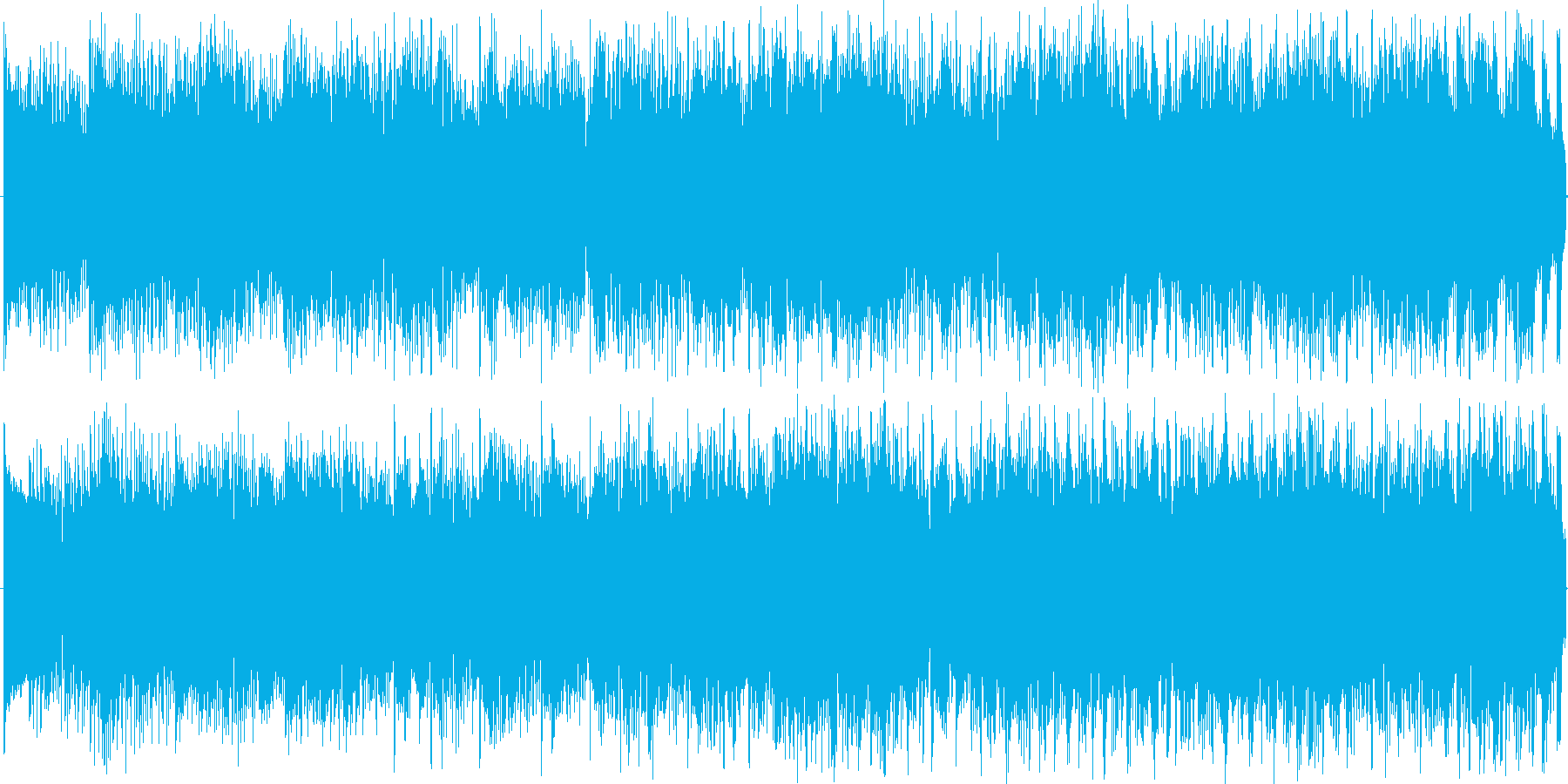 爽やかなピアノが中心のラテンハウス調の…の再生済みの波形