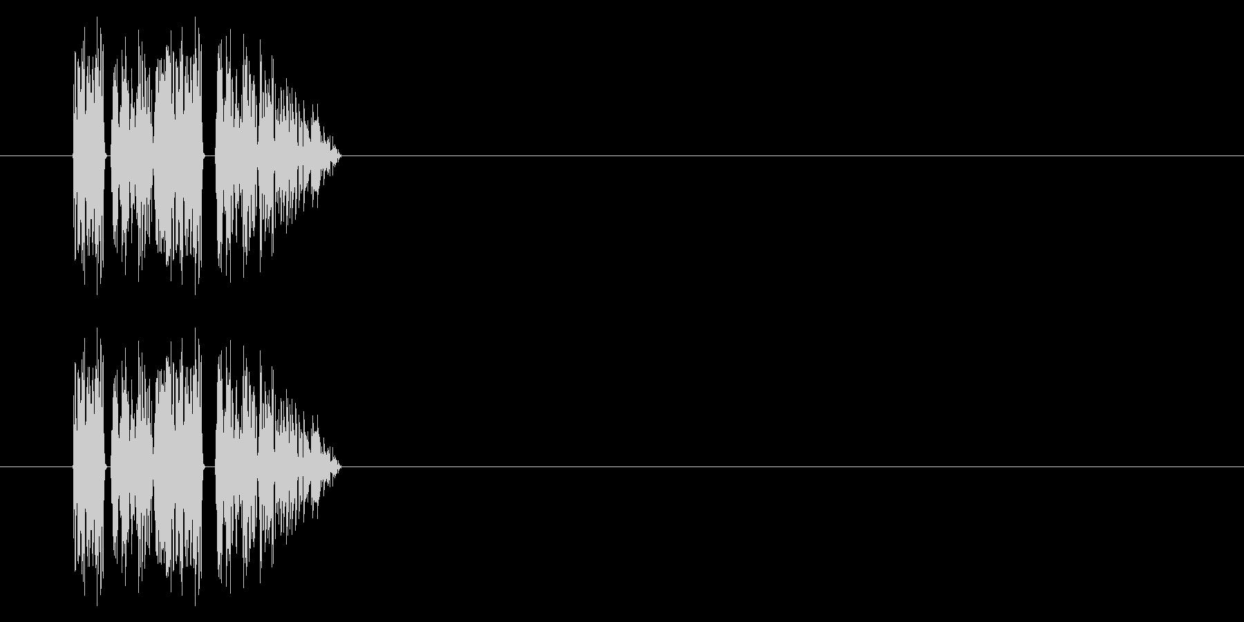 SNES-RPG02-06(ダメージ)の未再生の波形