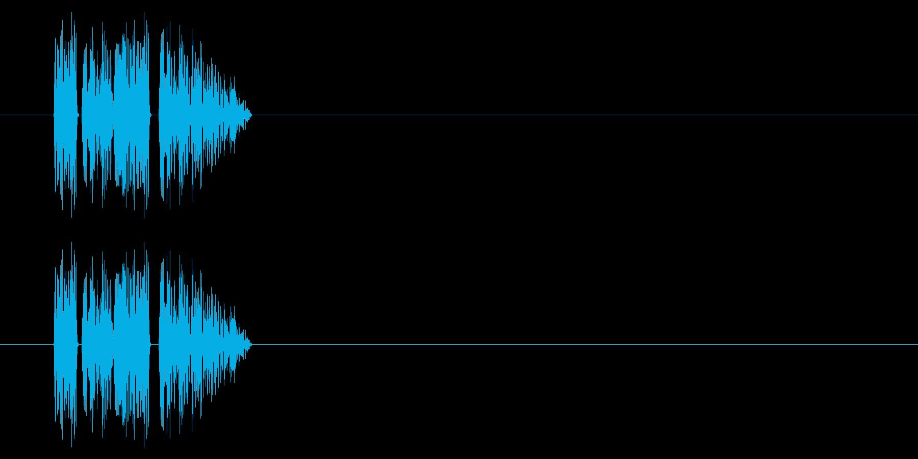 SNES-RPG02-06(ダメージ)の再生済みの波形