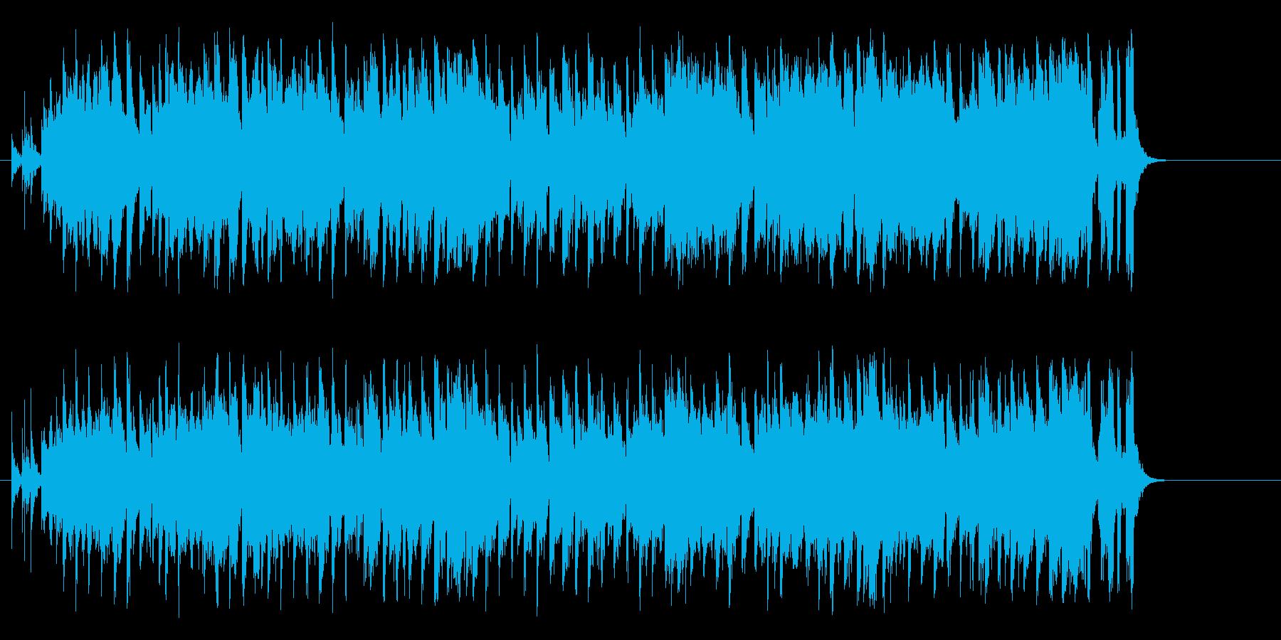 仲間同士の前向きで陽気なポップスの再生済みの波形