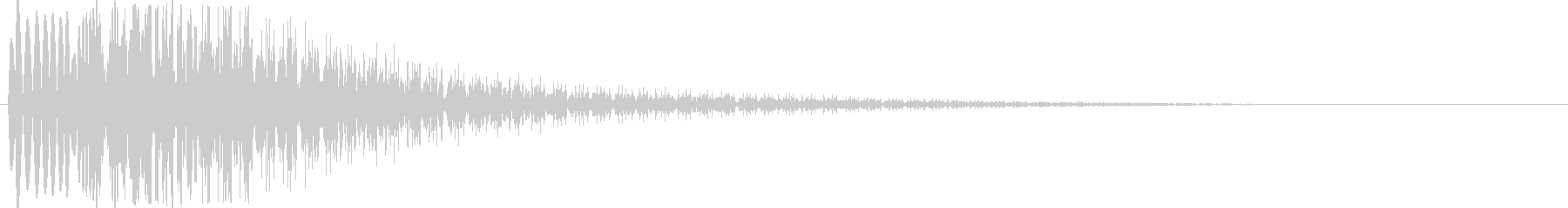 ワープ系の未再生の波形