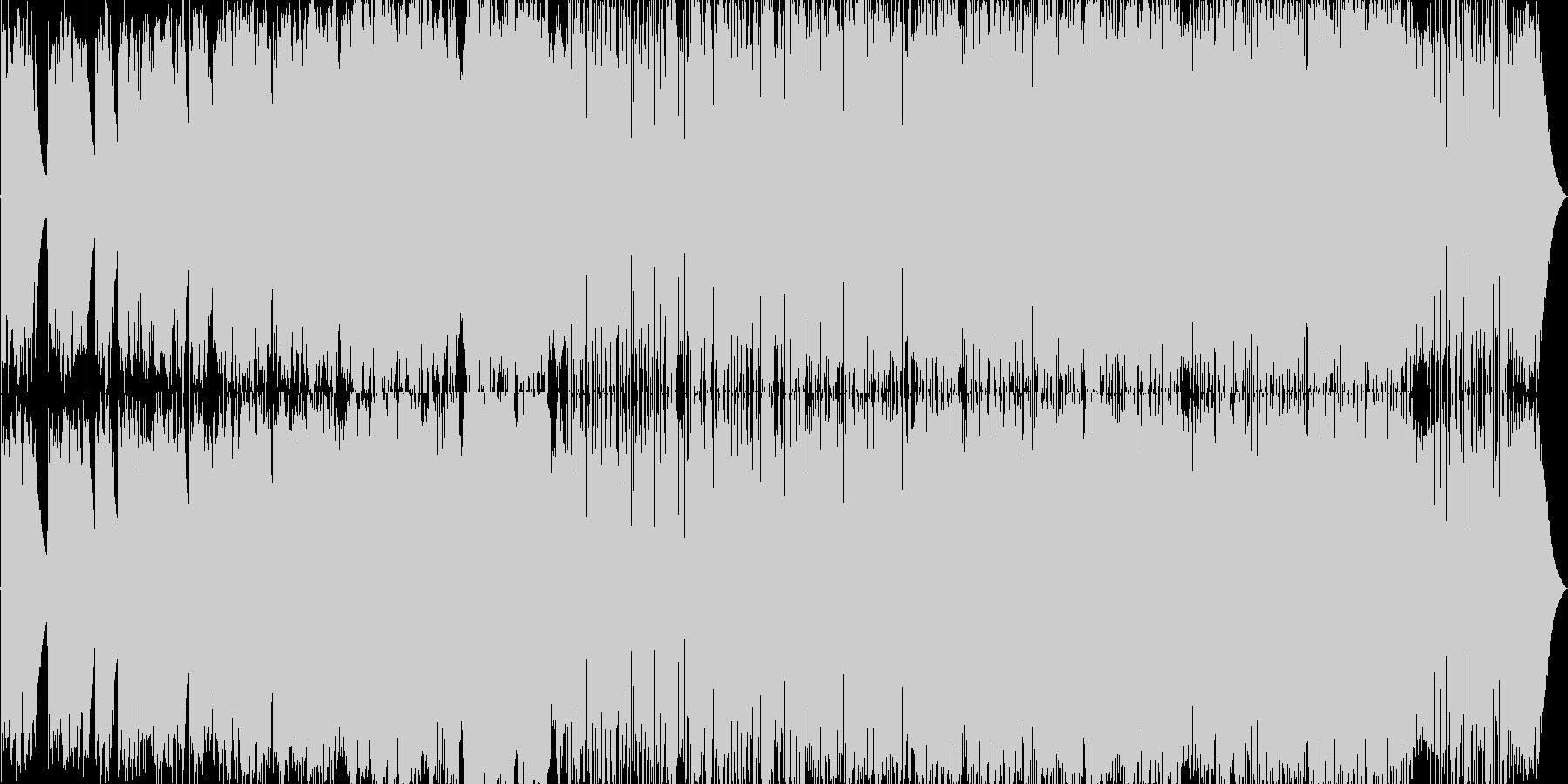 アコースティックなポップな感動バラードの未再生の波形