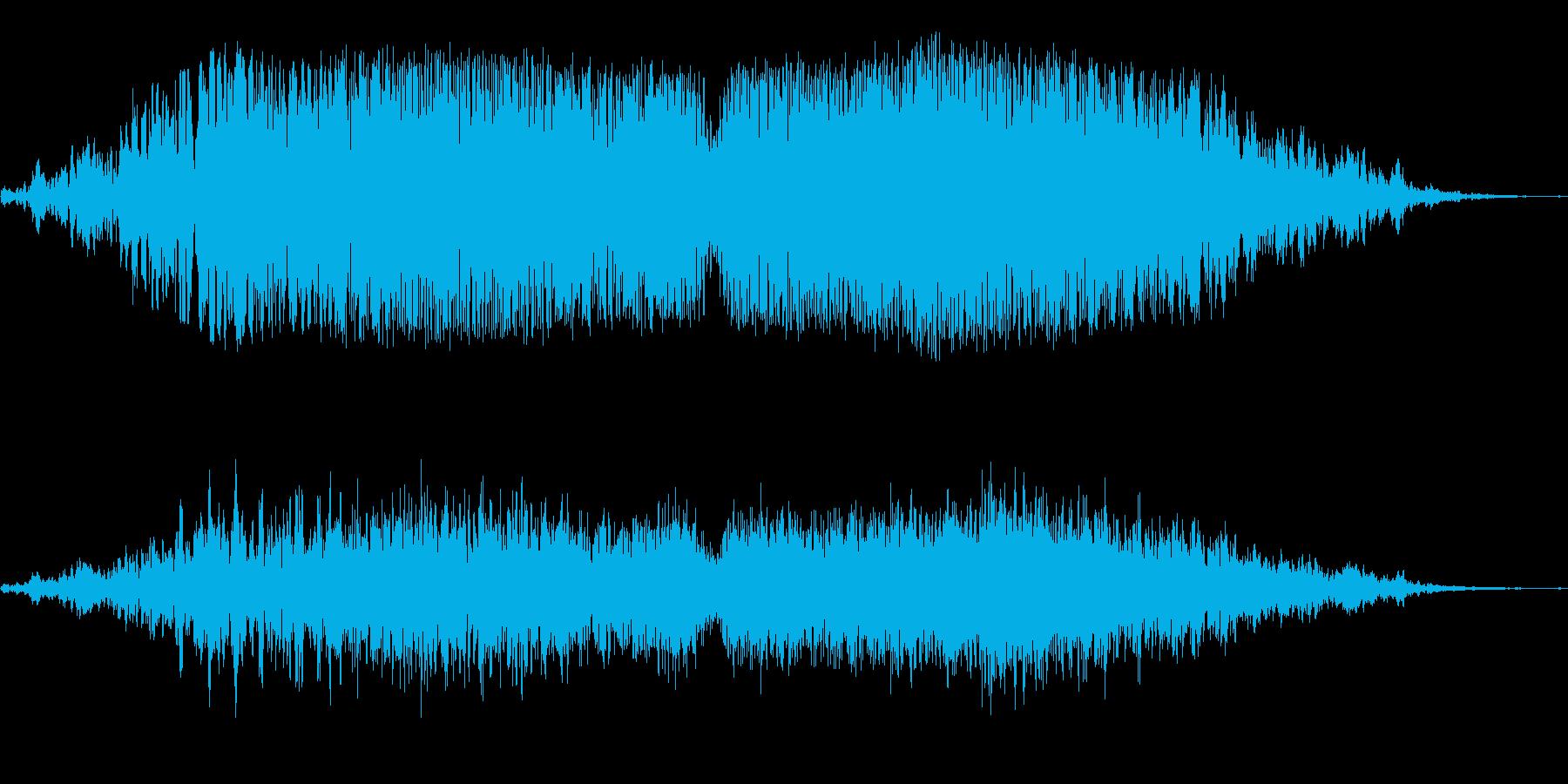 ゴゴゴ(巨大宇宙船通過)の再生済みの波形