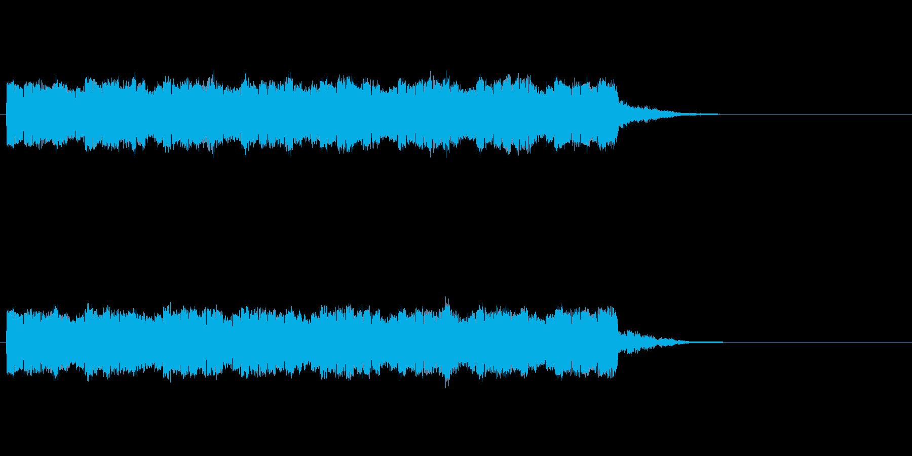 トコテントコテントコテンの再生済みの波形