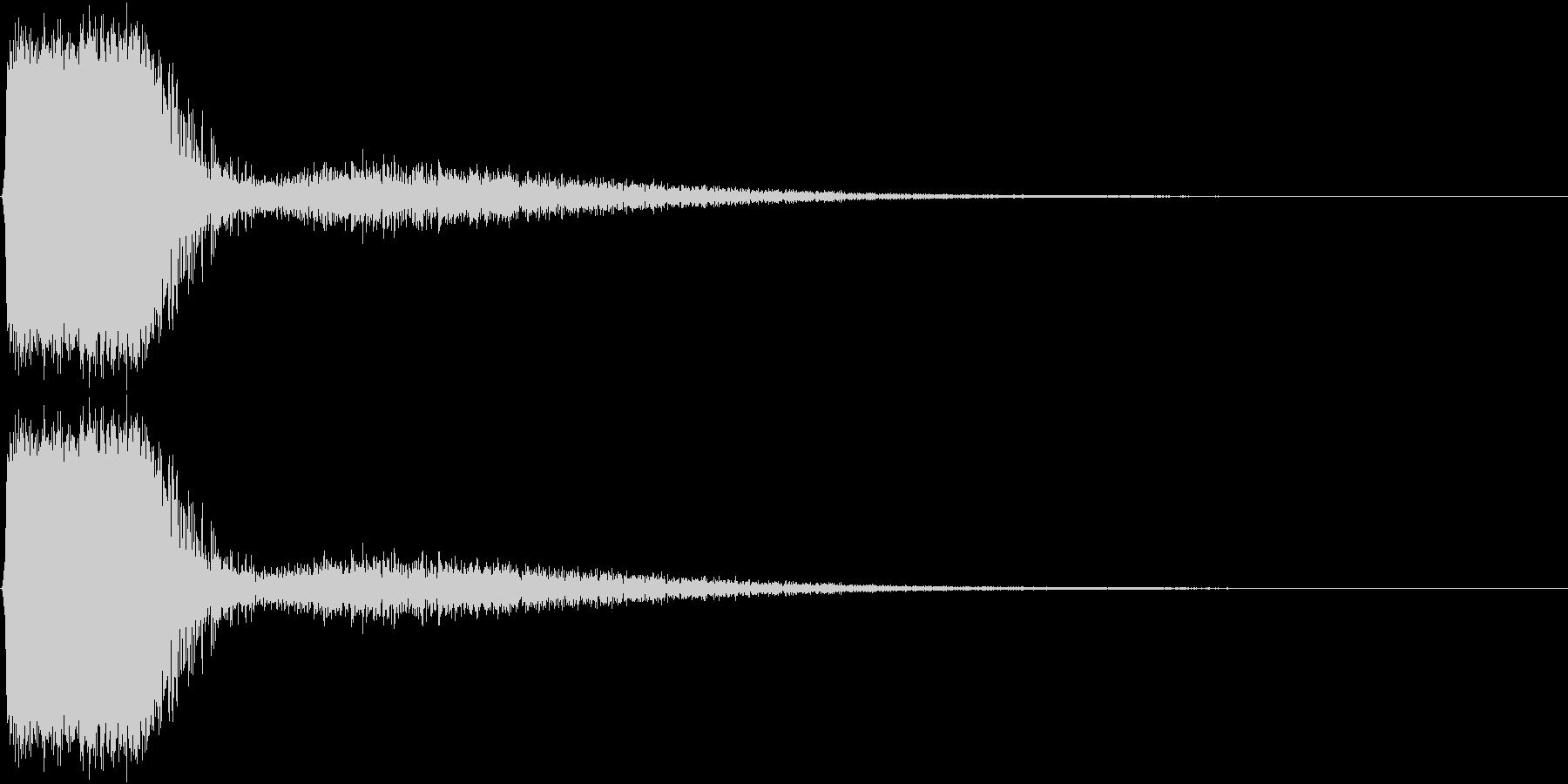 KAKUGE 格闘ゲーム戦闘音 58の未再生の波形