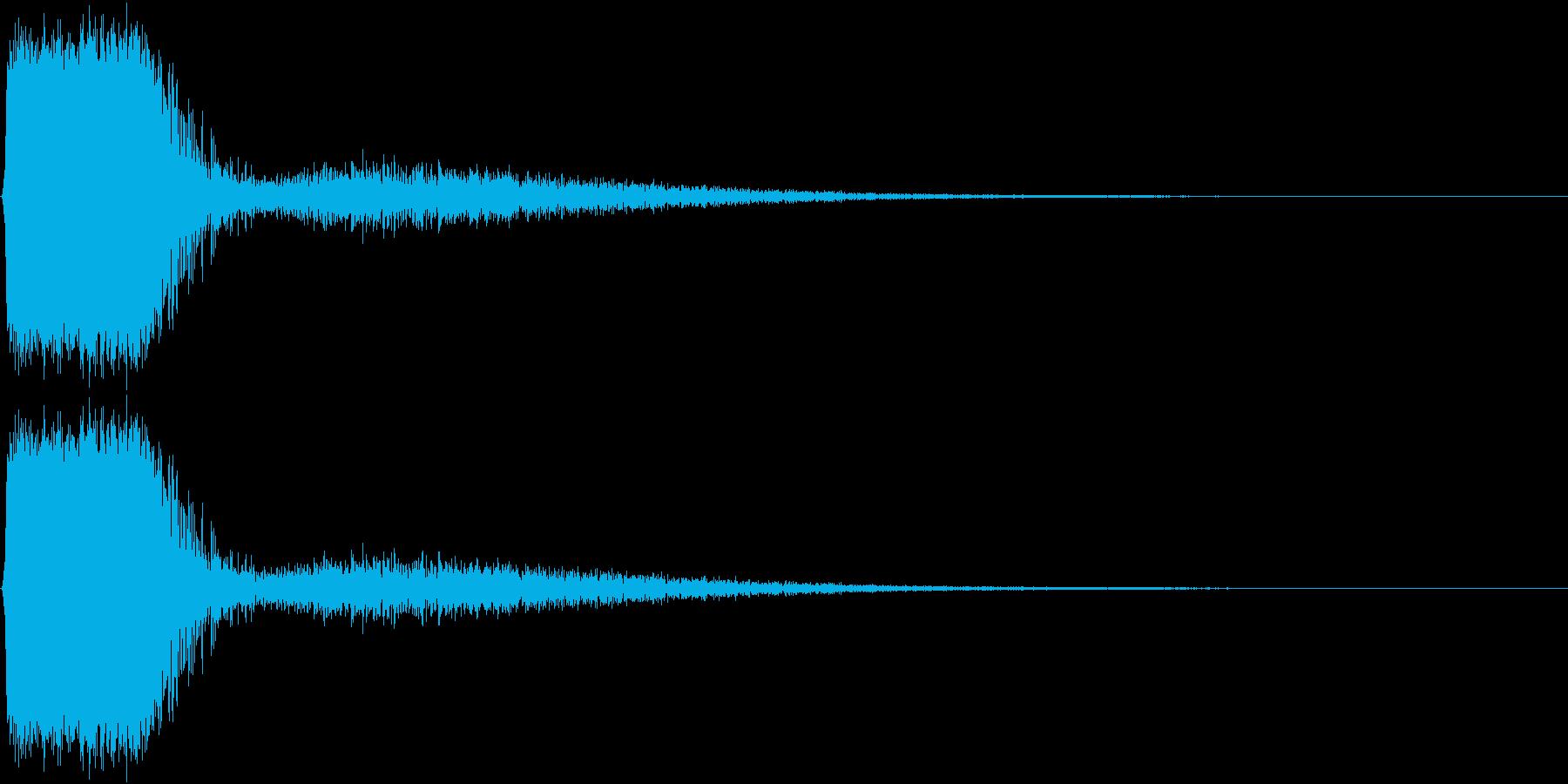 KAKUGE 格闘ゲーム戦闘音 58の再生済みの波形