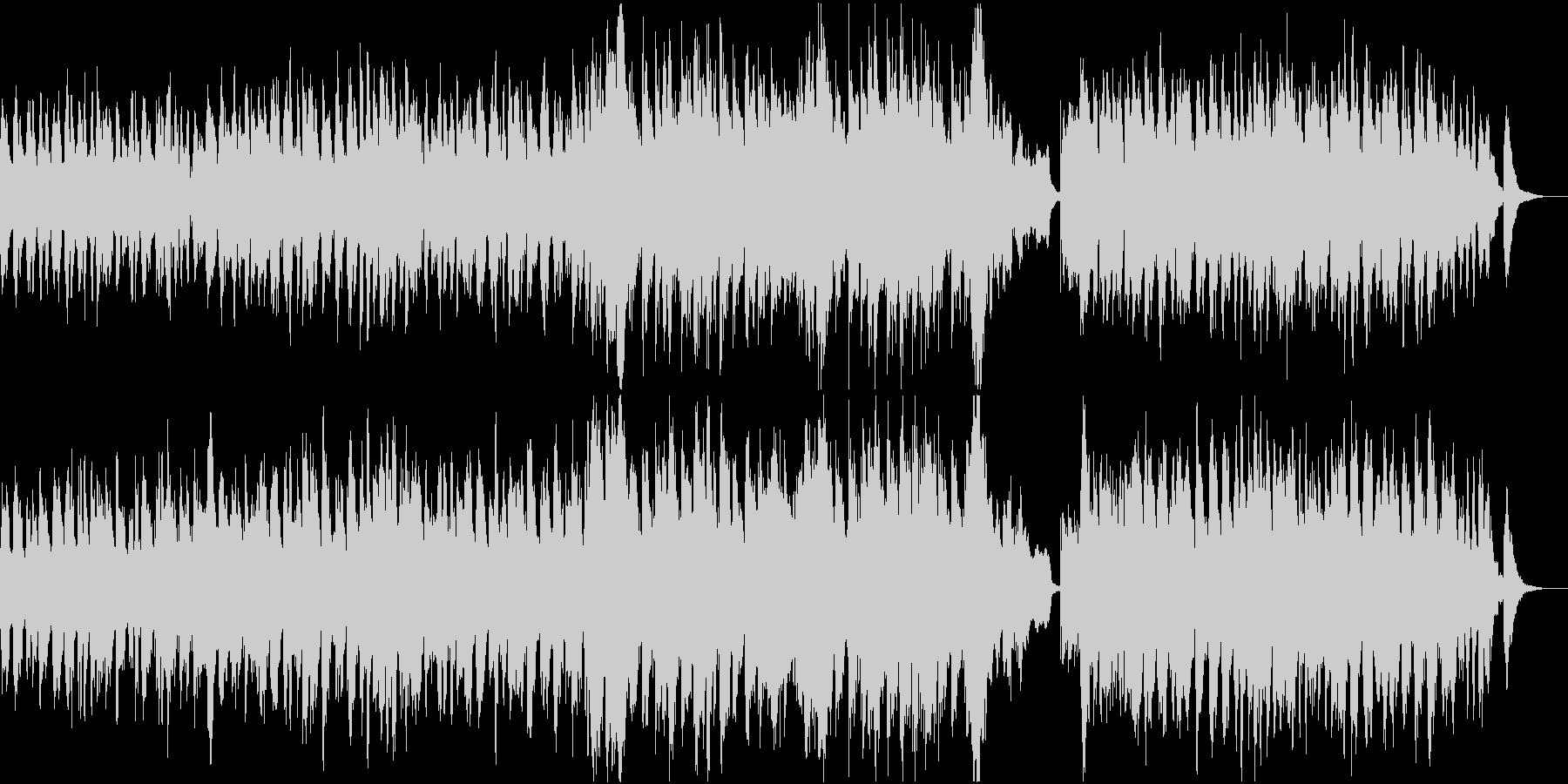 ハロウィンを表現した怪しいオーケストラ曲の未再生の波形
