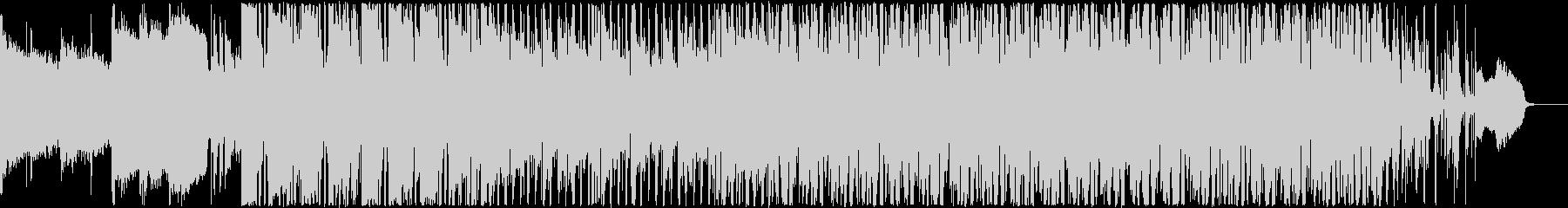 フュージョン調の軽快なBGMの未再生の波形