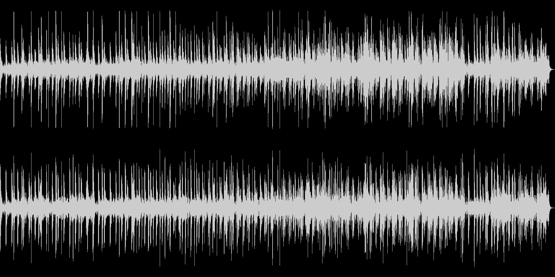ピアノによるミニマルミュージックの未再生の波形