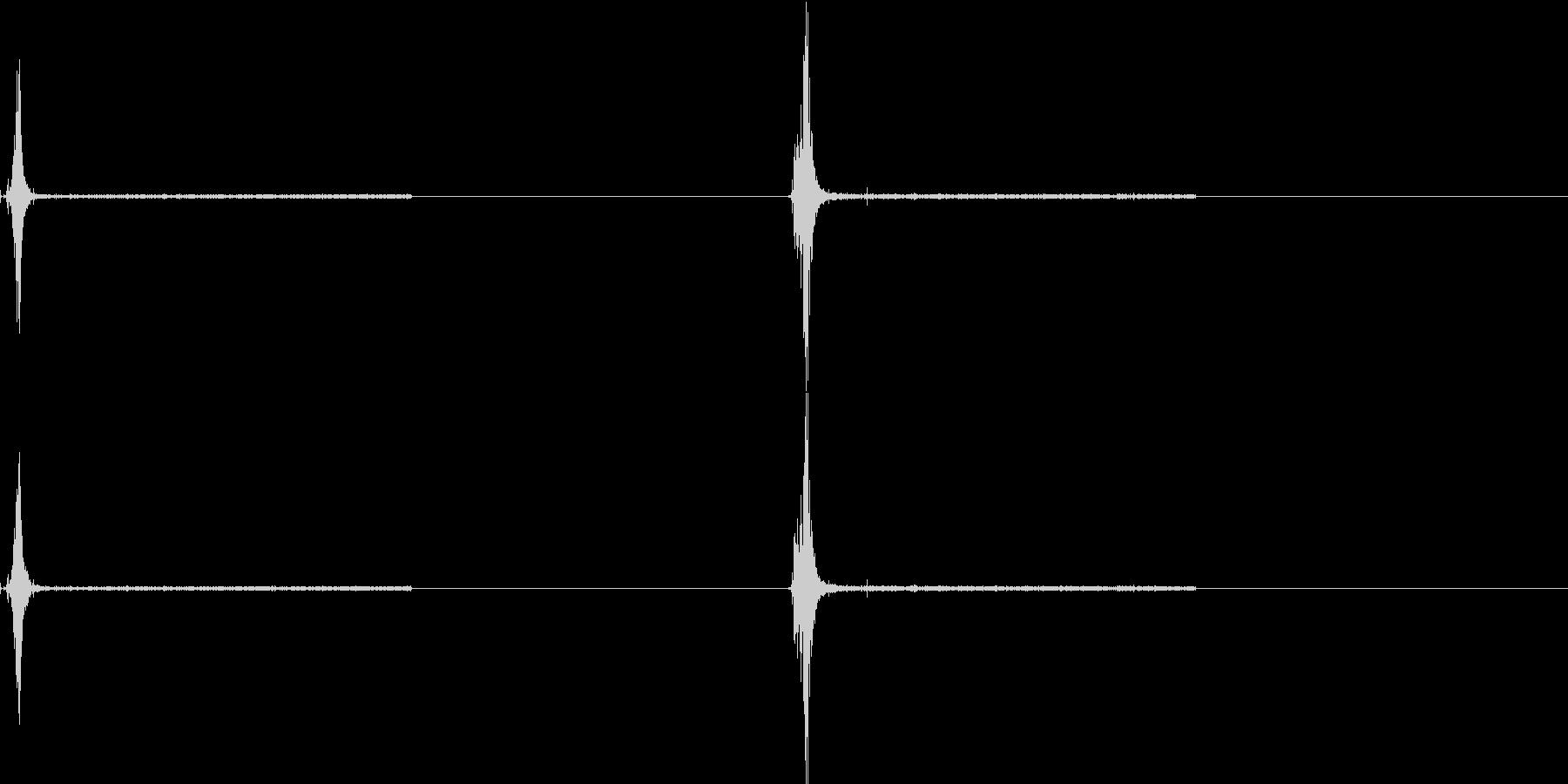 ライターの未再生の波形