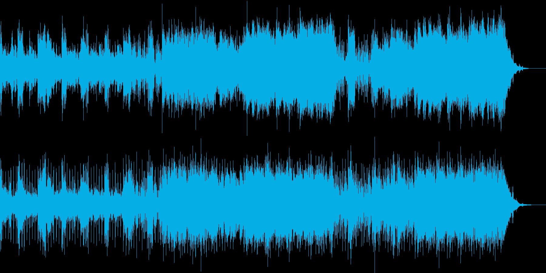 【ミステリー・サスペンス】映像制作向けの再生済みの波形