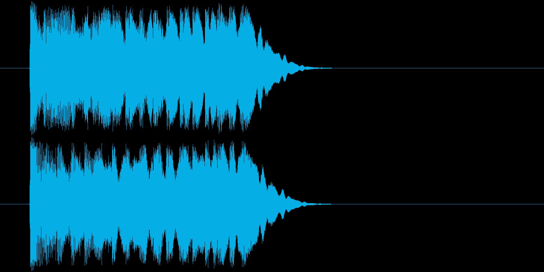 魔法インパクト(コミカル系)の再生済みの波形
