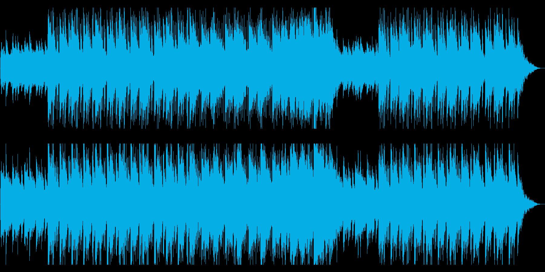 浮遊感のあるやさしい響きのポストロックの再生済みの波形