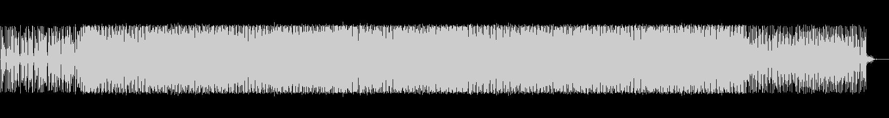 パズルゲーム風エレクトロニカの未再生の波形