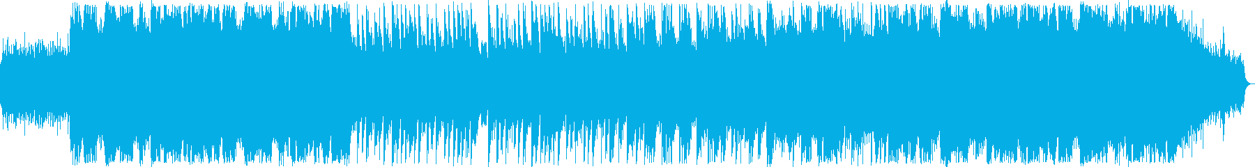 切ないシンセサイザー系サウンドの再生済みの波形