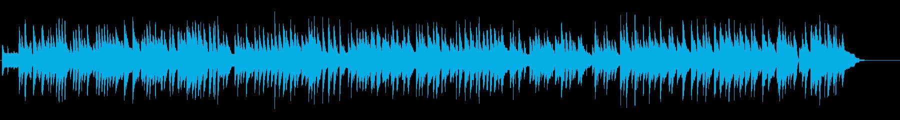 しっとり大人のムードがあるピアノ伴奏の再生済みの波形