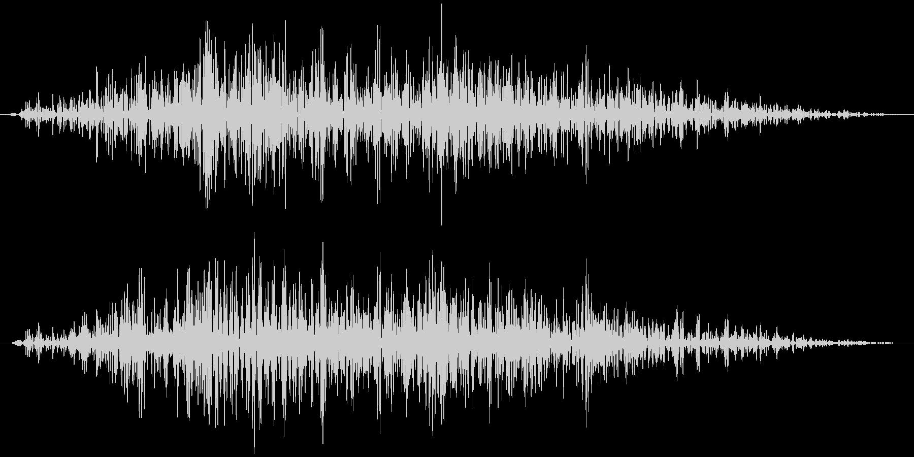 引き戸(木製、長め)ガラガラガラガラ…の未再生の波形
