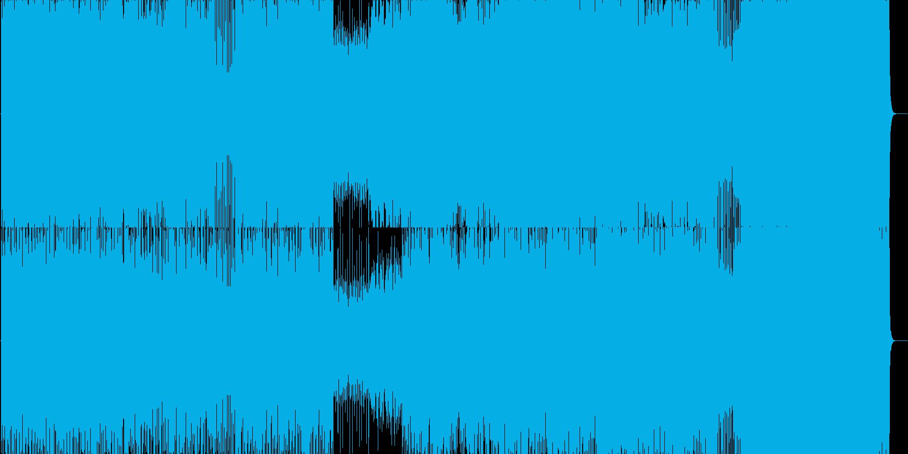 元気が欲しかった時作った曲の再生済みの波形