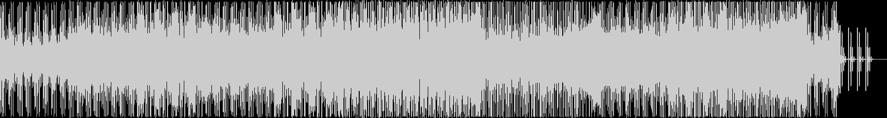 ミステリアスなテックハウスEDMの未再生の波形