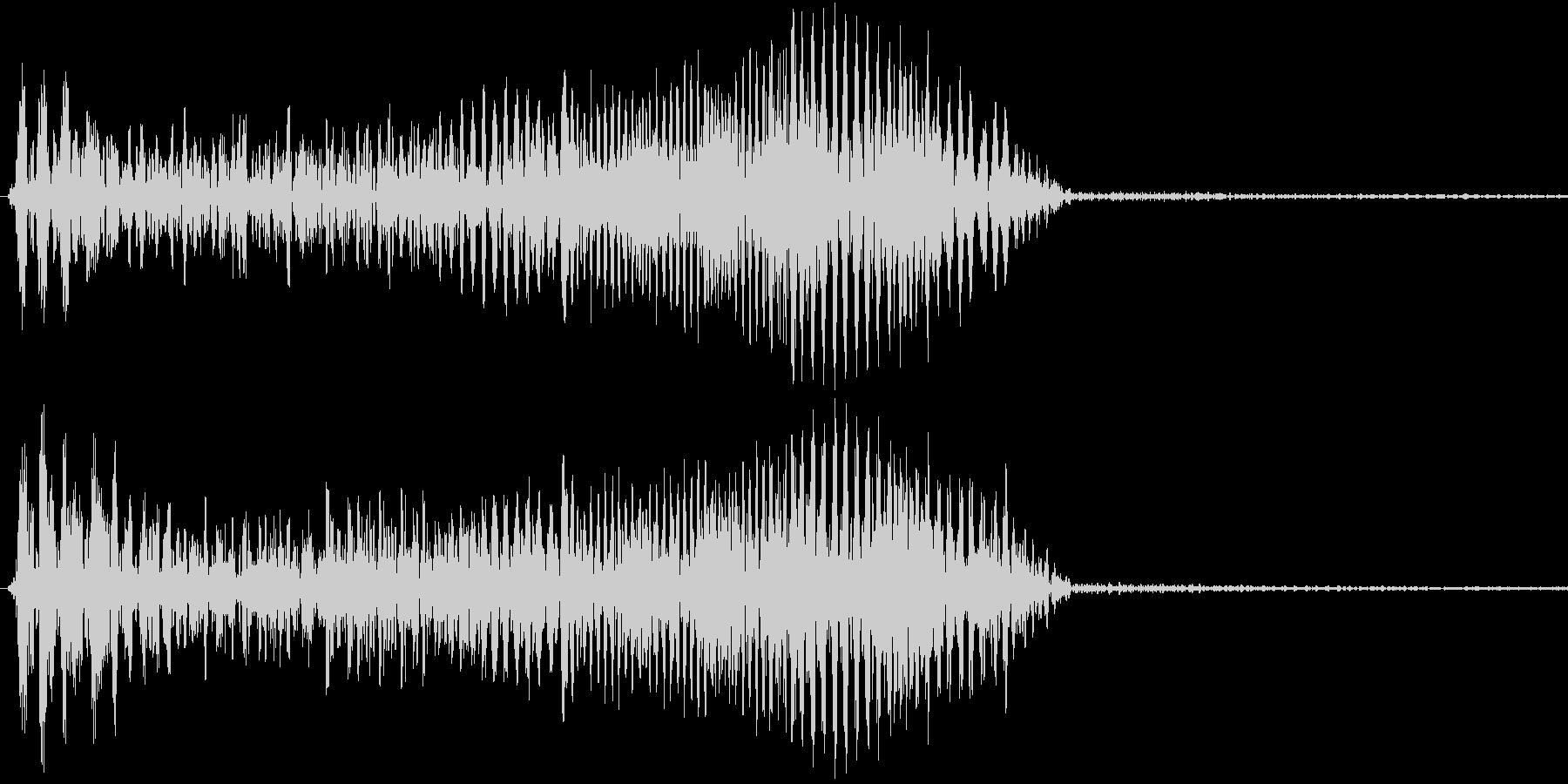 決定音/操作音-ydxの未再生の波形