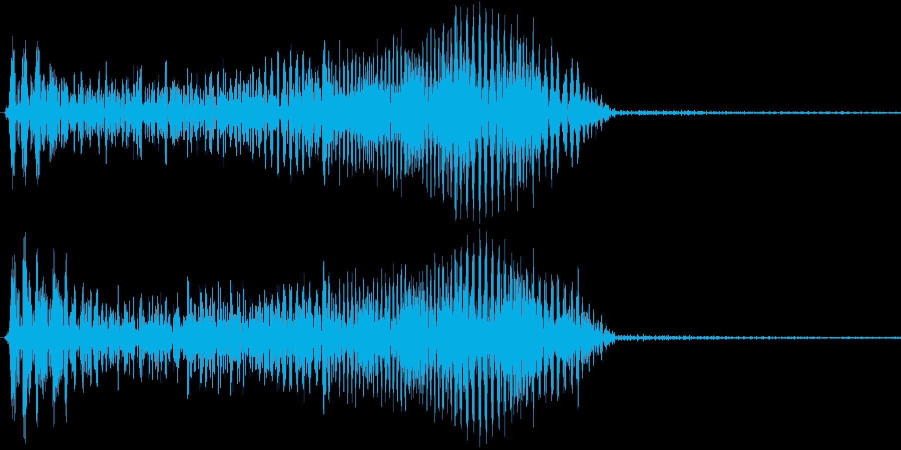 決定音/操作音-ydxの再生済みの波形