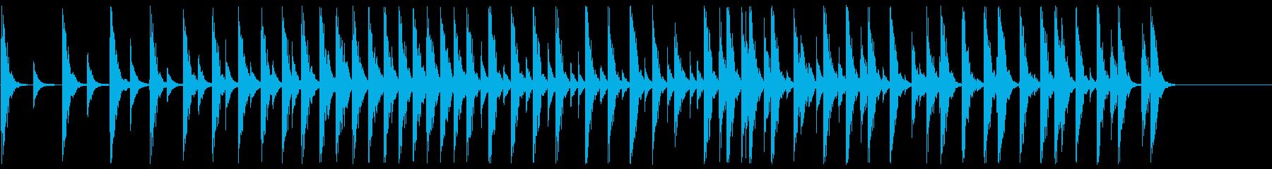 寄せ太鼓 大相撲のアレです。の再生済みの波形