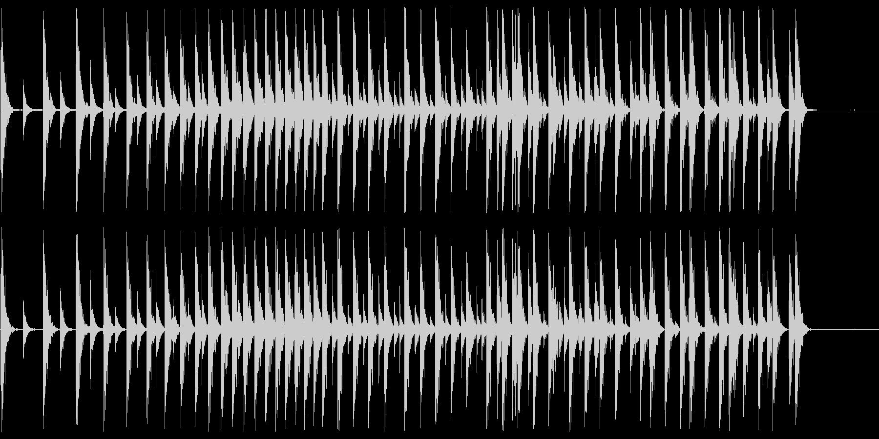 寄せ太鼓 大相撲のアレです。の未再生の波形