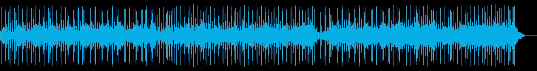 空を飛ぶ鳥のようなポップ(フルサイズ)の再生済みの波形