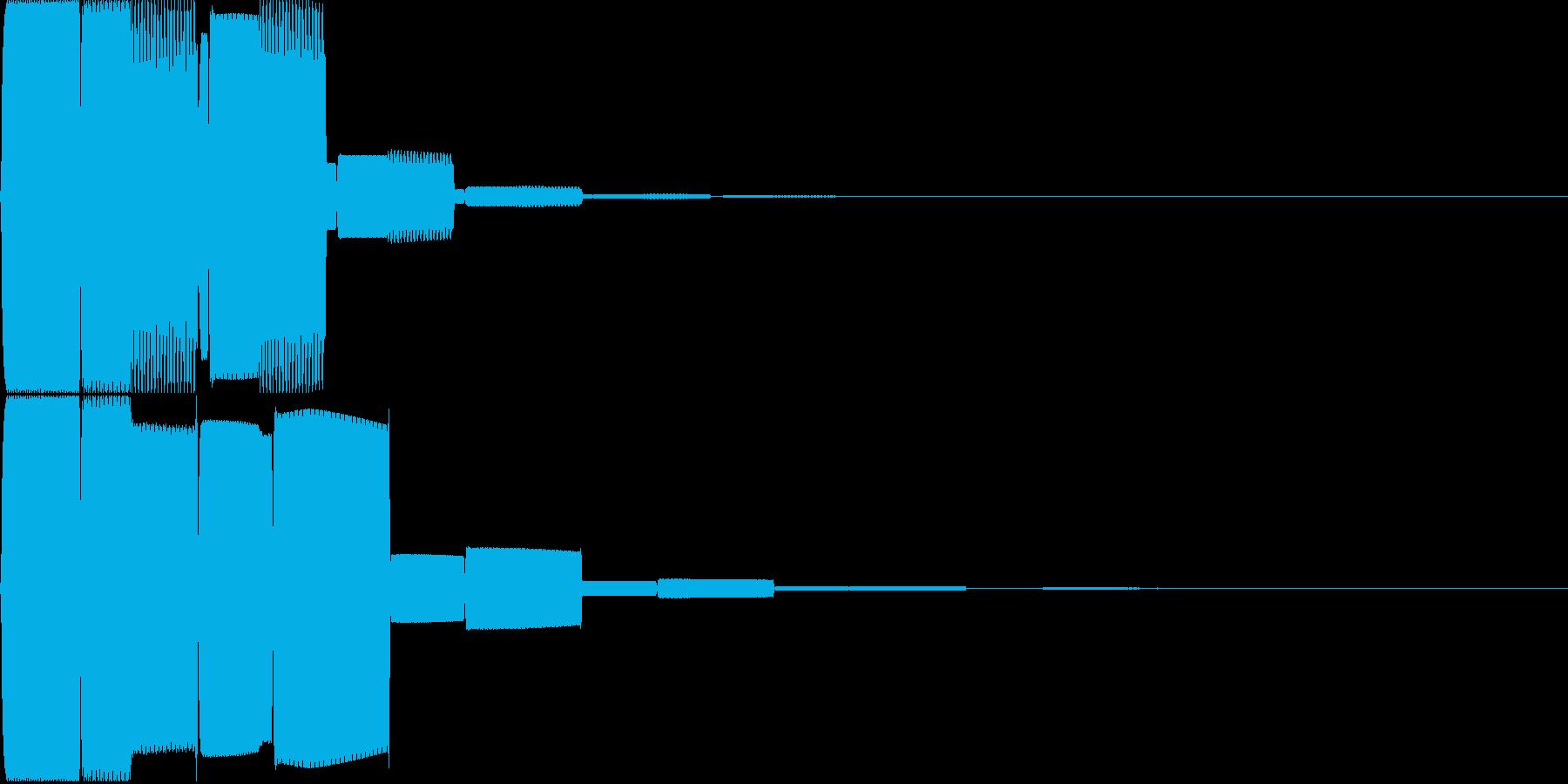 汎用キャンセルボタン - 5の再生済みの波形