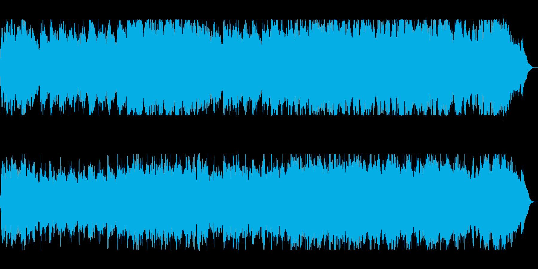 華麗で迫力のあるオーケストラサウンドの再生済みの波形