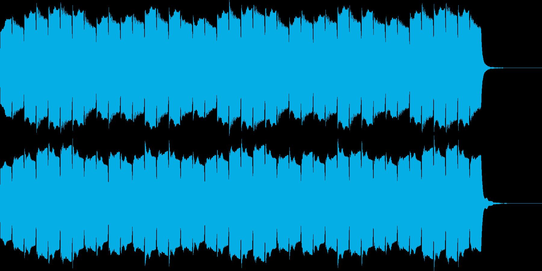 救急車のサイレンF(ハーモニック・長)の再生済みの波形