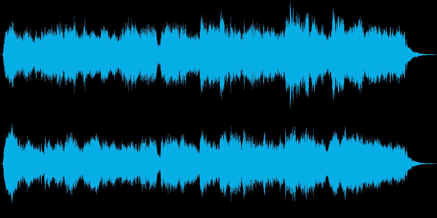 RPG 城 教会 荘厳 パイプオルガンの再生済みの波形