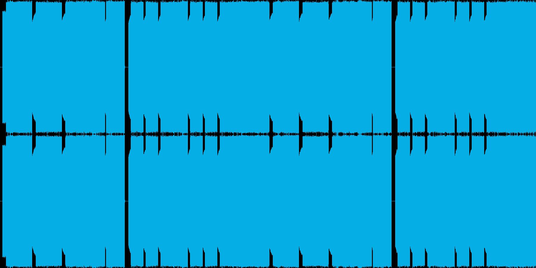 チップチューンで、回想シーンをイメージ…の再生済みの波形