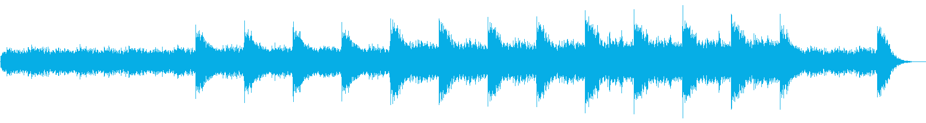 不気味で奇妙なSFホラー系シネマティックの再生済みの波形