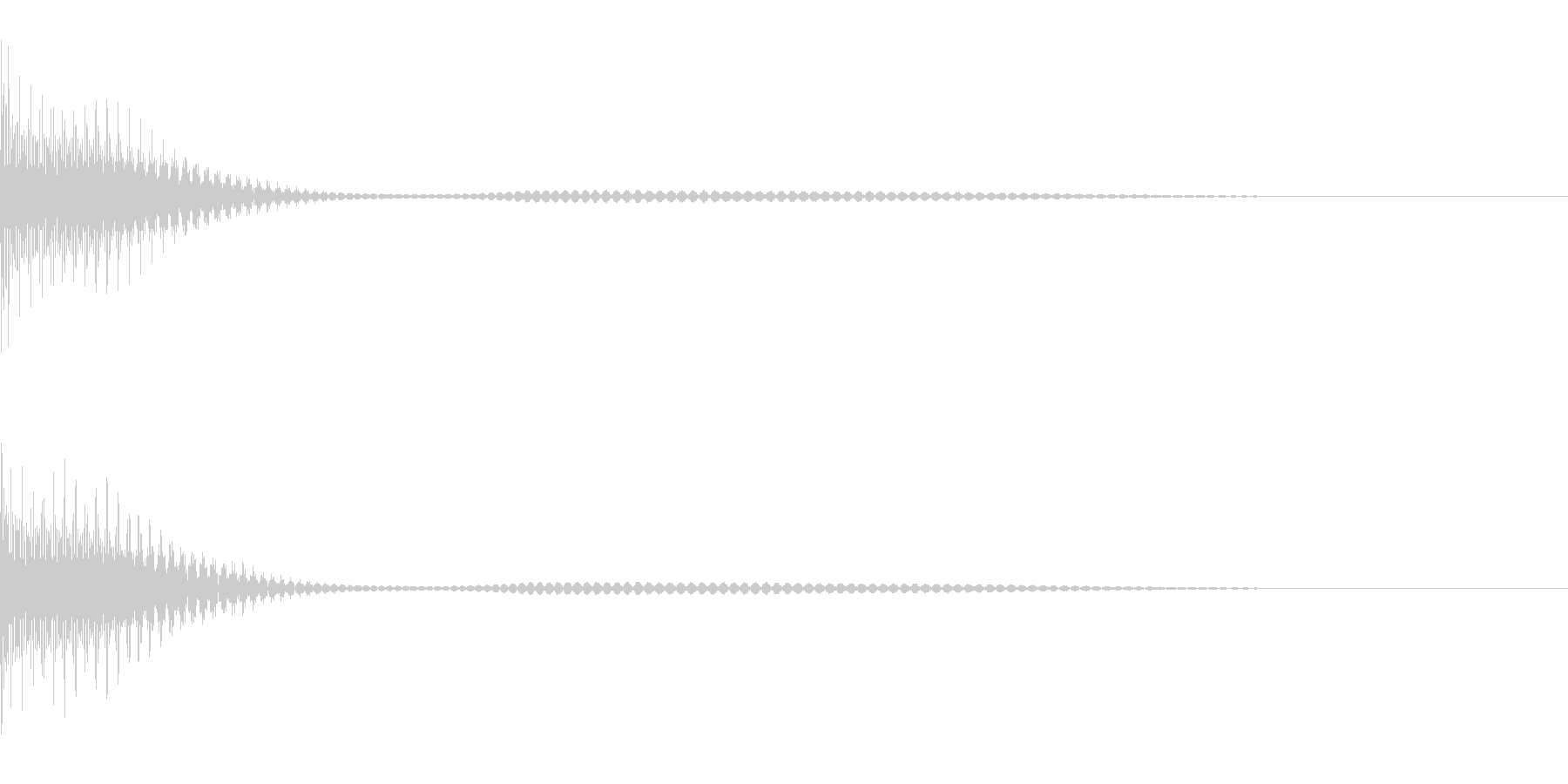 Cancel キャンセルコマンドSE 7の未再生の波形
