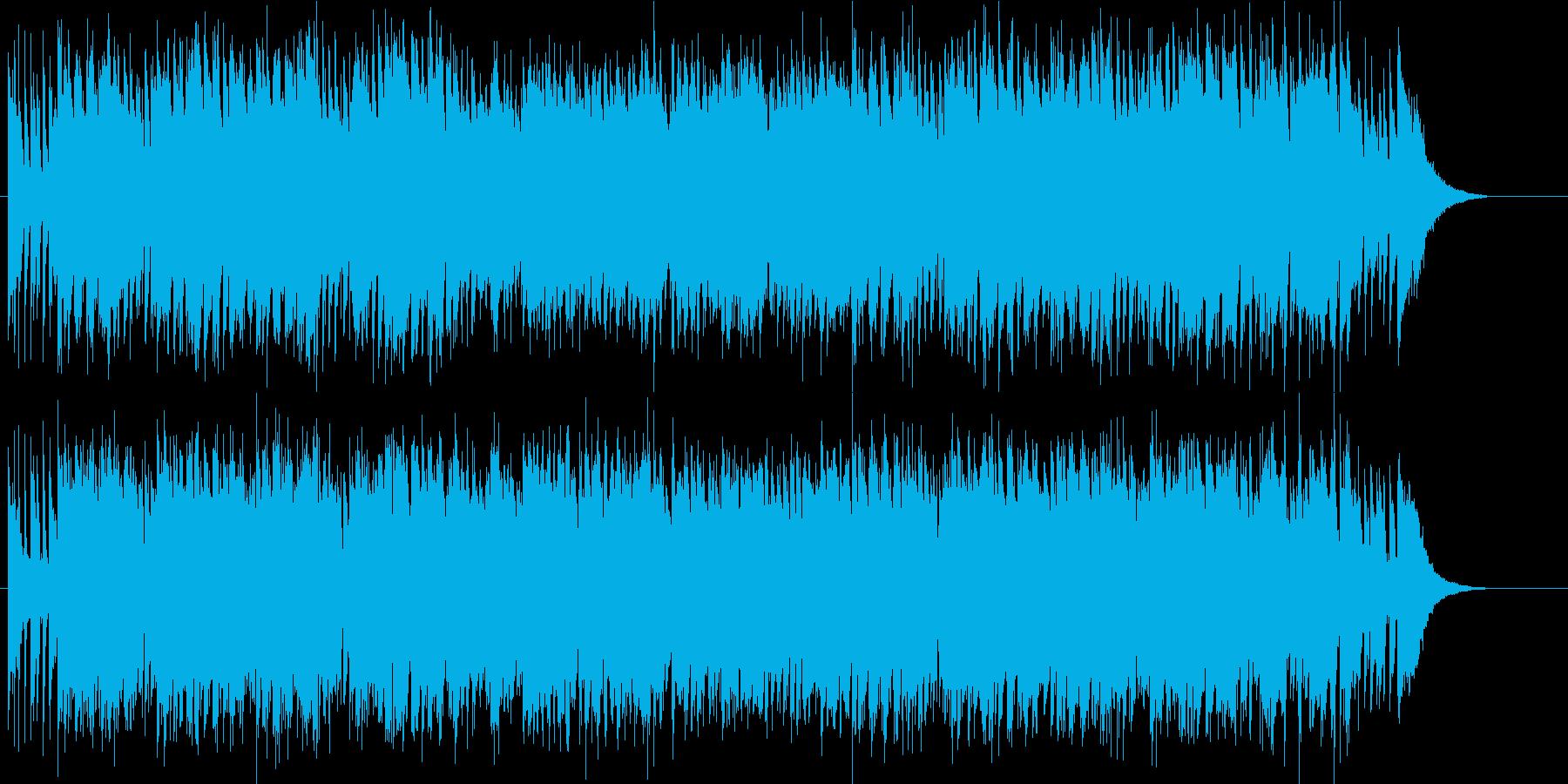 お洒落でムーディーなナイトクラブ/ジャズの再生済みの波形