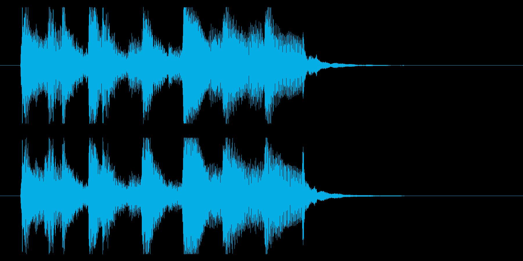 【めんそーれ2】の再生済みの波形