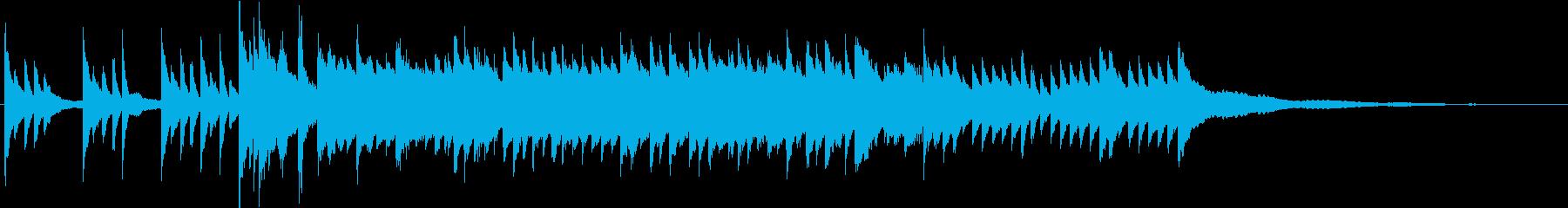 切ないブライダルBGM60秒ピアノソロの再生済みの波形