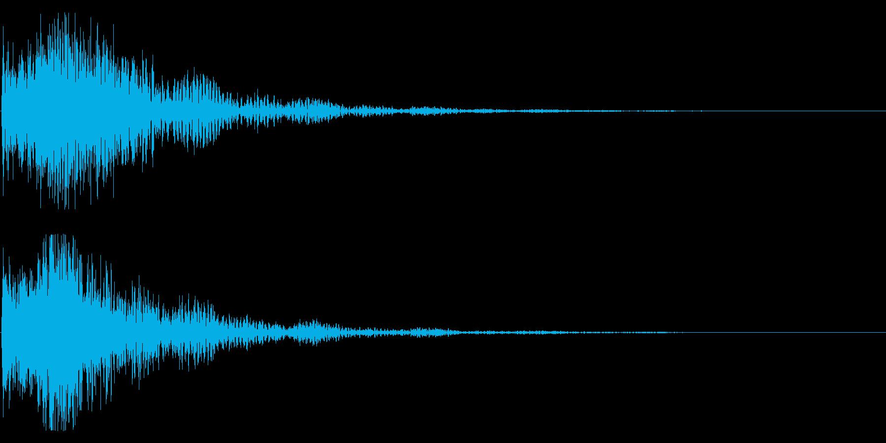 和風 オーケストラヒット ジングル!1bの再生済みの波形