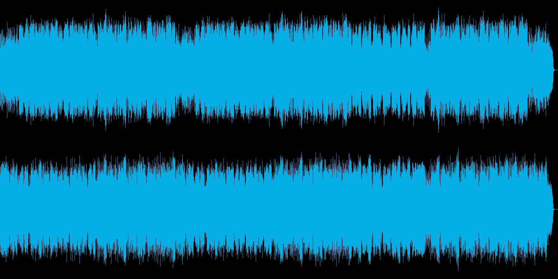 優しく励ます様な旋律をサックスのバラードの再生済みの波形
