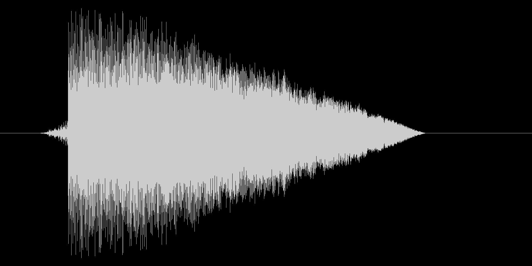ゲーム(ファミコン風)ジャンプ音_031の未再生の波形